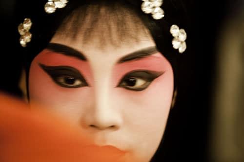 Beijing Opera Performer, by Ken Jarecke
