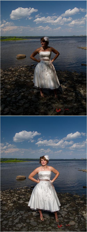 Bride photographed using the Elinchrom Quadra system
