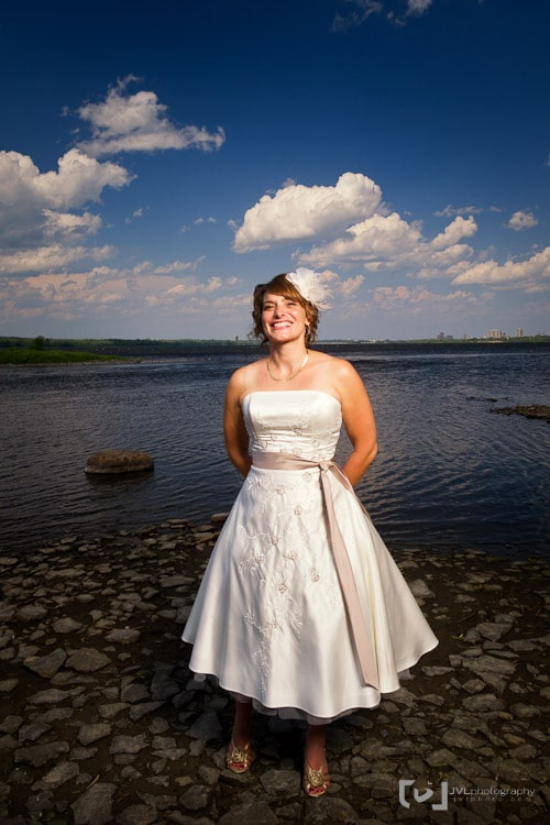 Bride and Elinchrom Quadra System