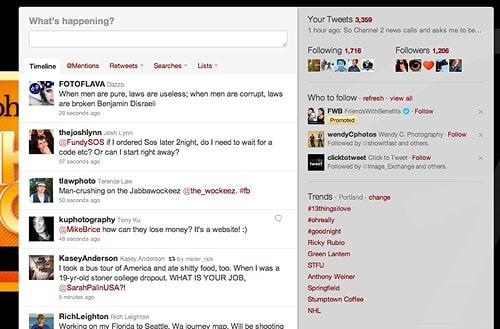 Andrew Funderburg Twitter Streams
