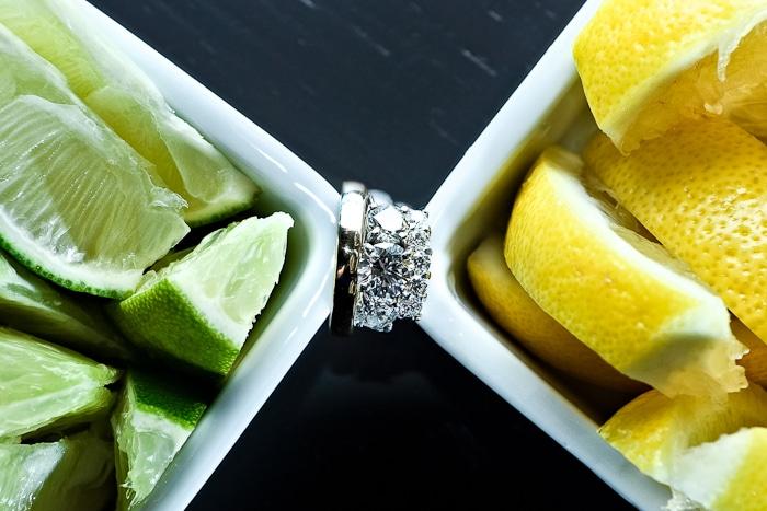 Doug Levy Wedding Ring Shots | Lime & Lemons