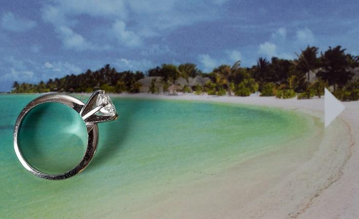 Doug Levy Wedding Ring Shot | Beach