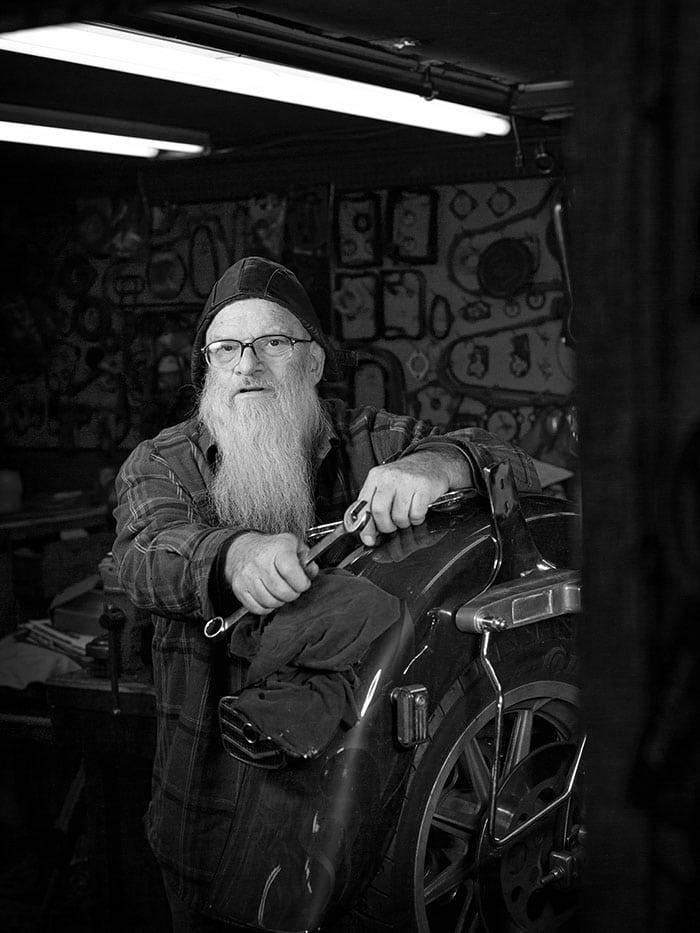 Doug Levy Medium Format Portrait