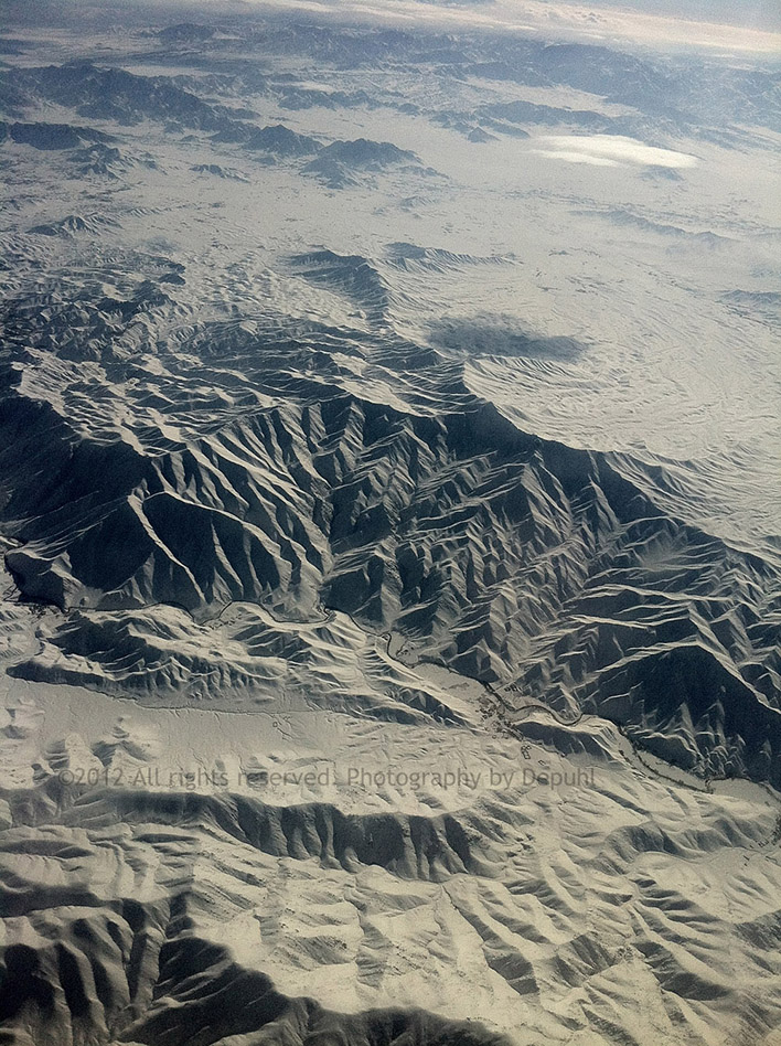 Afghanistan From 30,000 Feet
