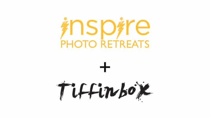 Inspire Photo Retreats & Tiffinbox Partnership