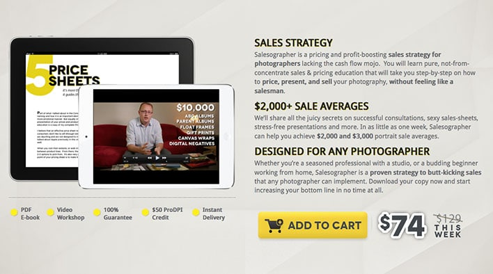 Salesographer On Sale