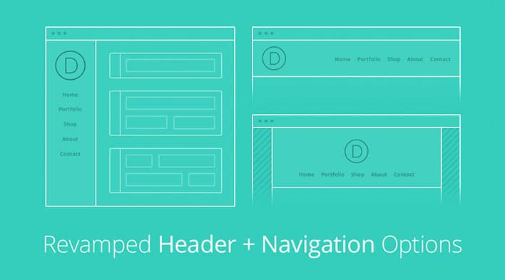 Divi Headers - Elegant Themes