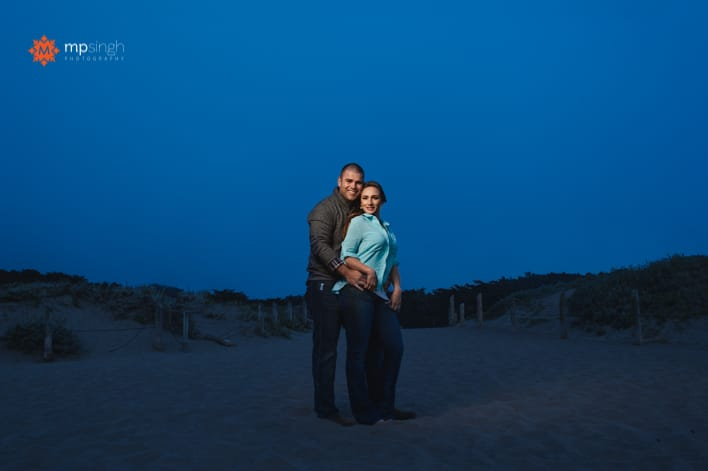 MPSingh Photography - Couple On The Beach