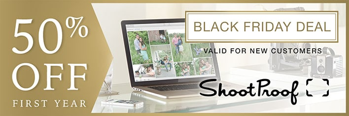 ShootProof's Black Friday Deal