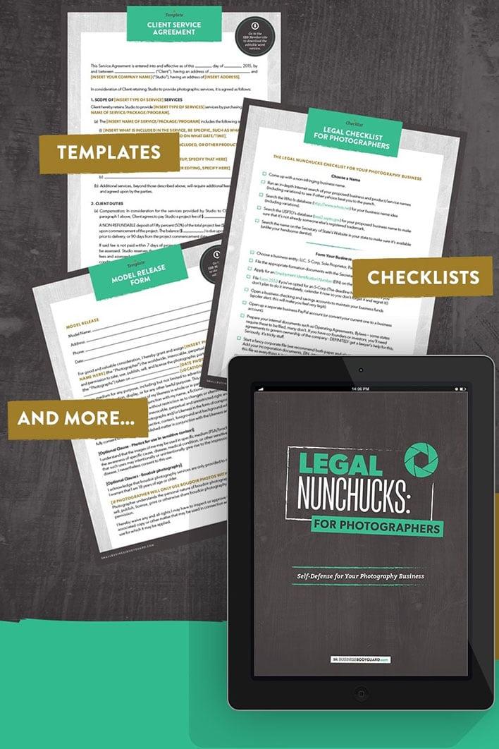 Legal Nunchucks: For Photographers