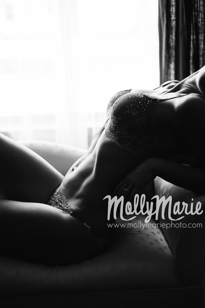 Molly Marie Boudoir Sessions, Eau Claire, Wisconsin