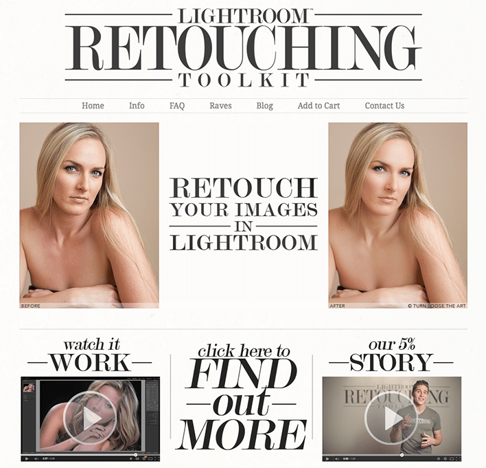 Lightroom Retouching Toolkit