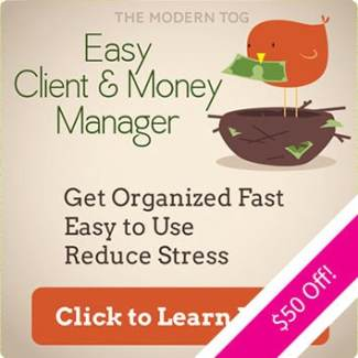 Easy Client & Money Manager by The Modern Tog