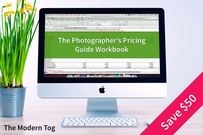 The Photographer's Pricing Guide Workbook by The Modern Tog
