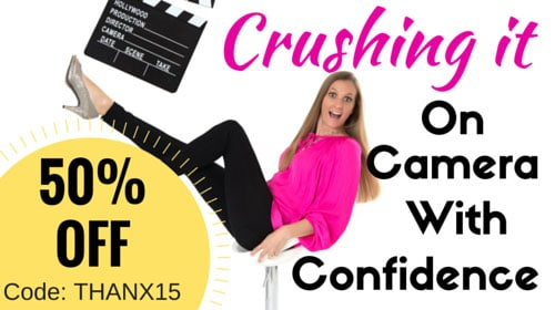 Crushing On Camera Confidence by Mimika Cooney