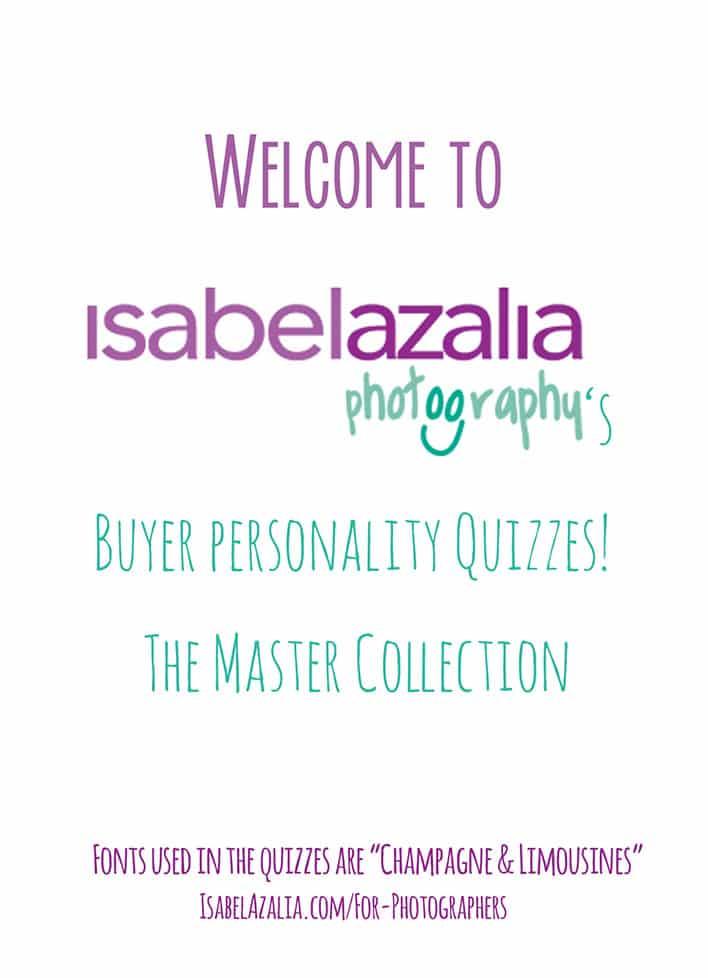 Client Quizzes By Isabel Azalia