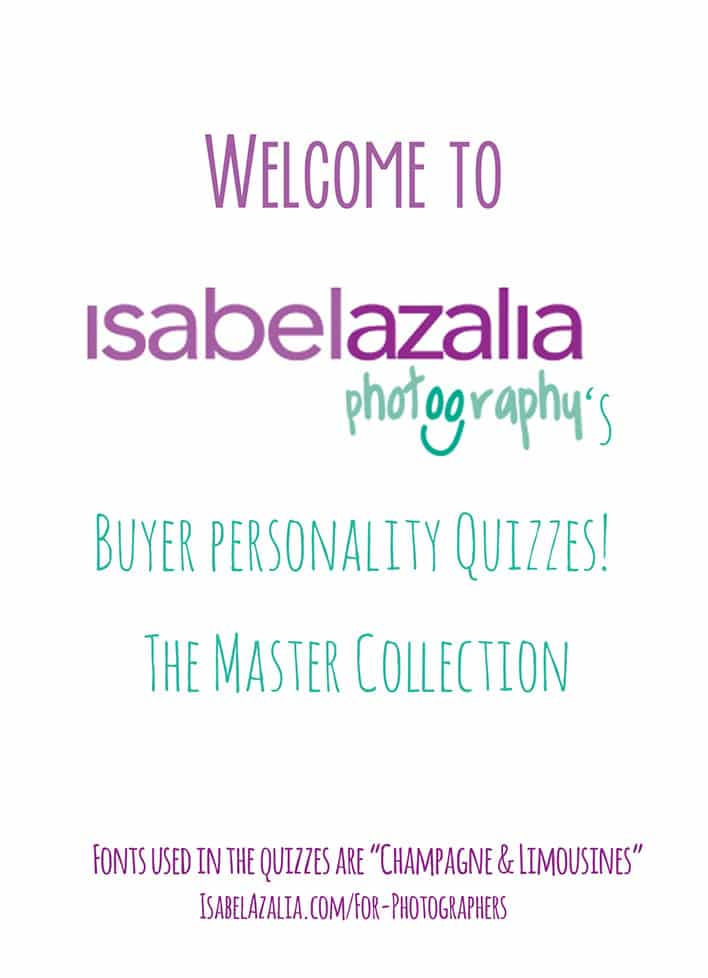 Client Quizzes By Isabel Azalia