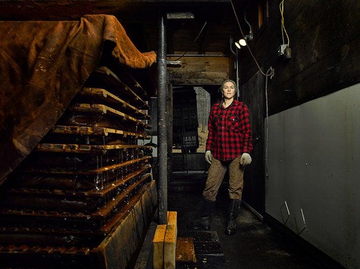 Personal Work: Marina Garland, Woods Cider Mill, Weathersfield, Vermont