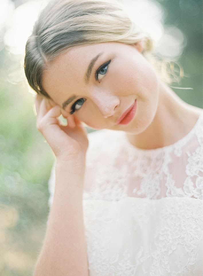 Jen Huang: Fine Art Wedding Photography, Bride Smiling At Camera