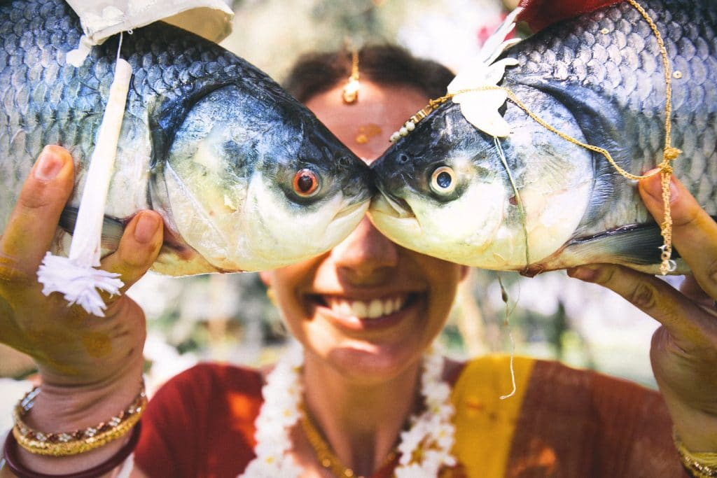 Create Client Experiences: Bengali Bride With Fish