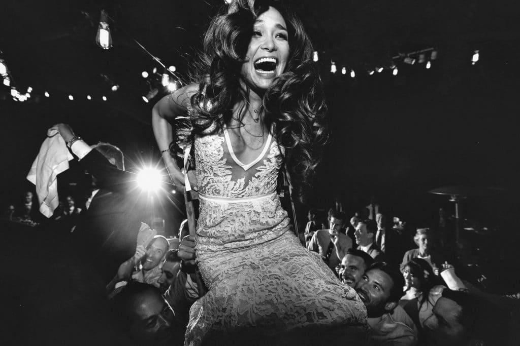 Create Client Experiences: Bride Hoisted On A Chair