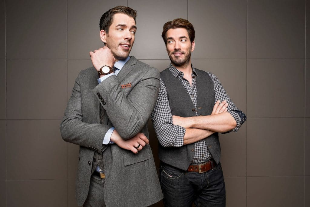 HGTV's Property Brothers Drew and Jonathan Scott.