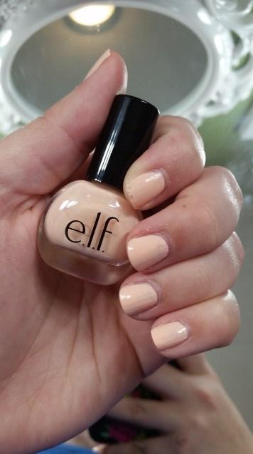 E.l.f. Nail Polish in Nude