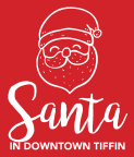 Santa in Downtown Tiffin