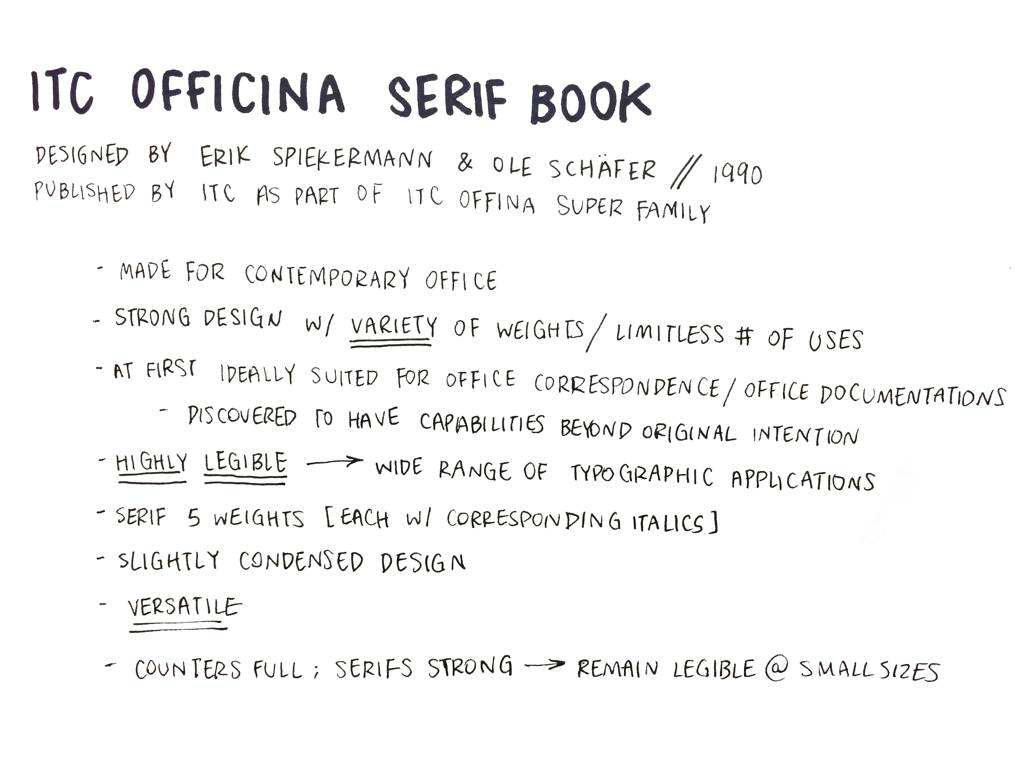 Fonte Itc Officina Serif Book
