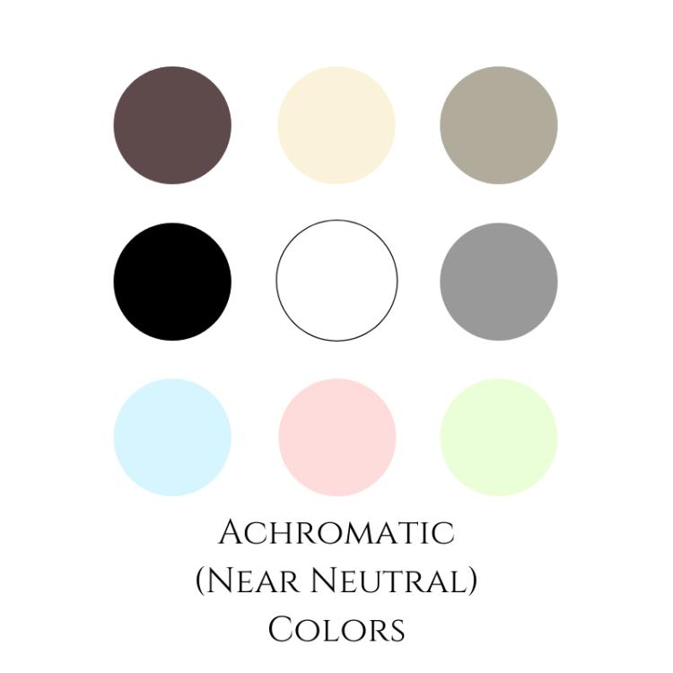 achromatic colors