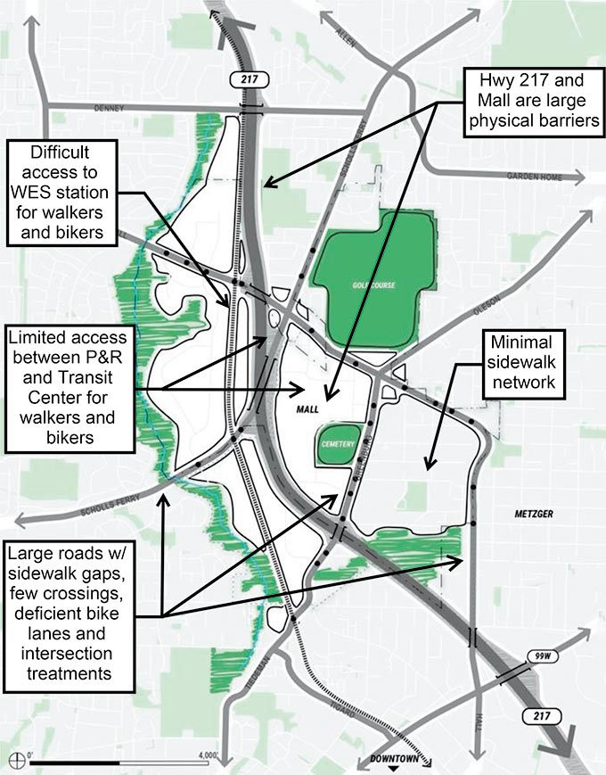 Tigard Mall : tigard, Tigard, Revisiting, Washington, Square, Regional, Center