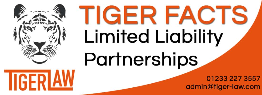 Tiger Law LIMITED-LIABILITY-PARTNERSHIPS Limited Liability Partnerships Tiger Factsheets 1