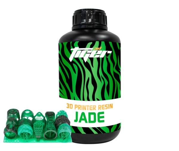 Tiger3D Castable Printer Resin: Jade