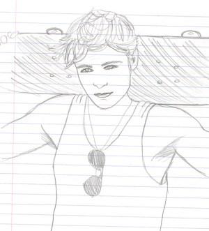 Melody s Drawing of Zac Efron! TigerBeat