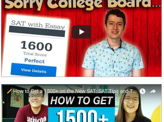 How to get a 1500 on the SAT
