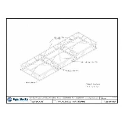 Truss Frame Galvanized 4x6 16