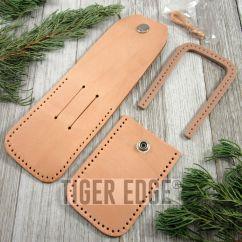 Diy Leather Belt Chair Dutch Design Folding Knife Sheath Tan Pouch Case