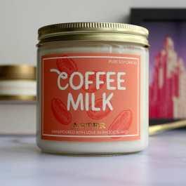 coffee Milk candle big