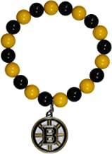 Bruins bead bracelet