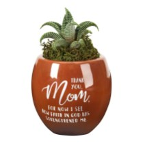 Mom flower pot