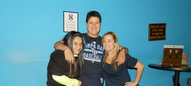 Jeannie Seaver, 2d, Vanessa Seaver 3d, Nicolle Cuellar, winner. Michell Monk, not pictured, 3d.