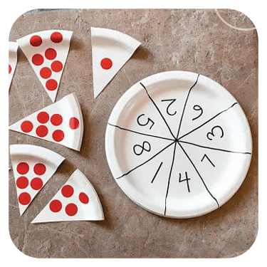 Pete's a Pizza Counting Activity