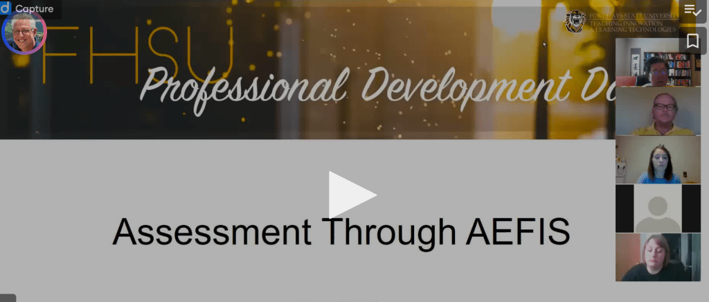 Assessment Through AEFIS