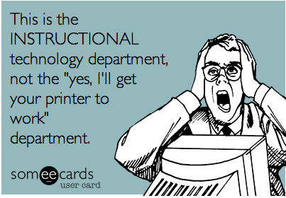 Ecard – Instructional Technology