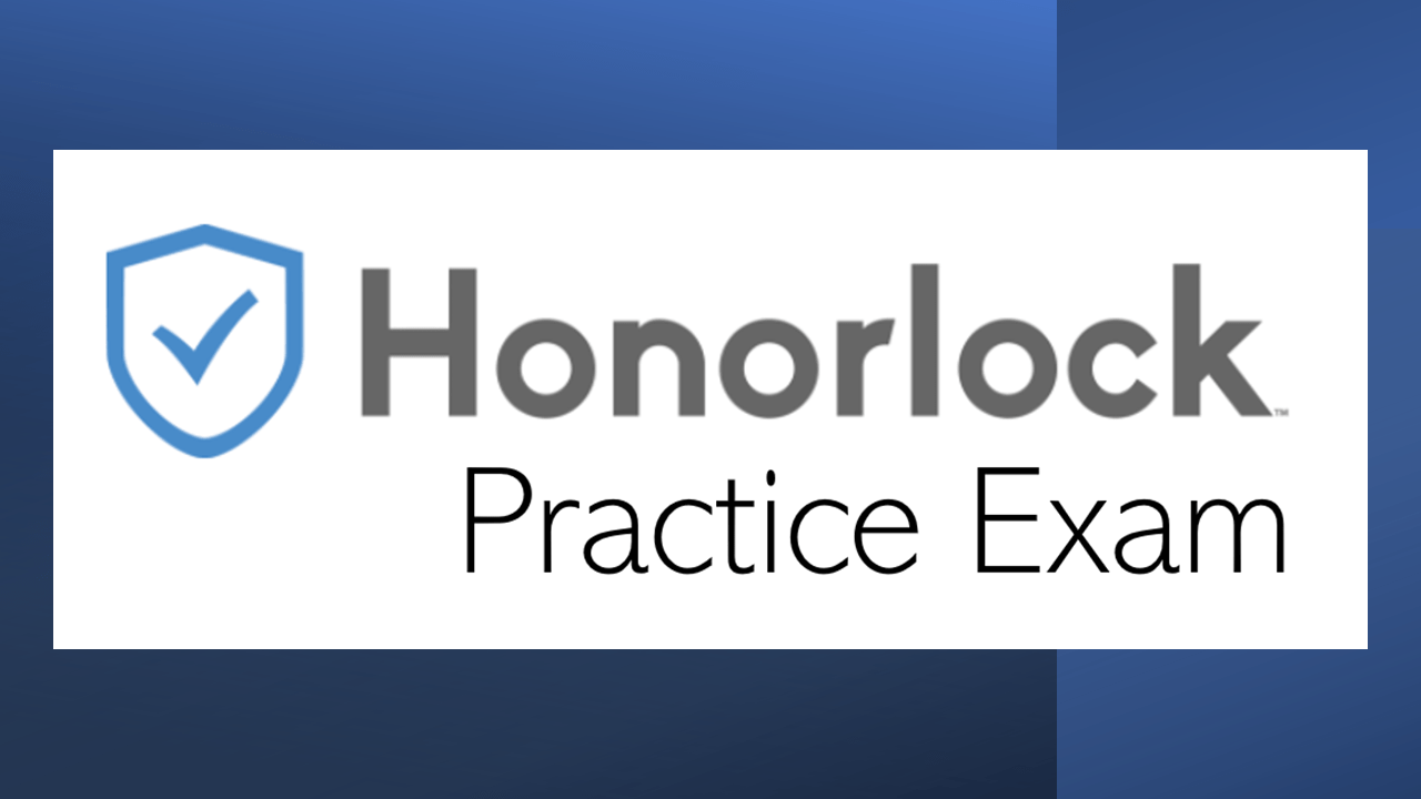 Honorlock Practice Exam