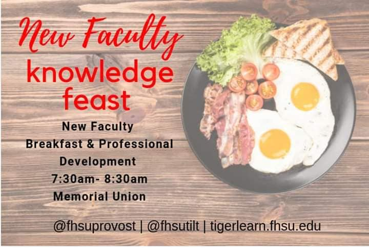 New Faculty Knowledge Feast