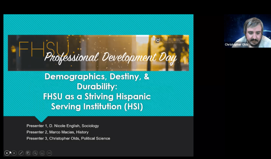 Demographics, Destiny, & Durability: FHSU as a Striving Hispanic-Serving Institution