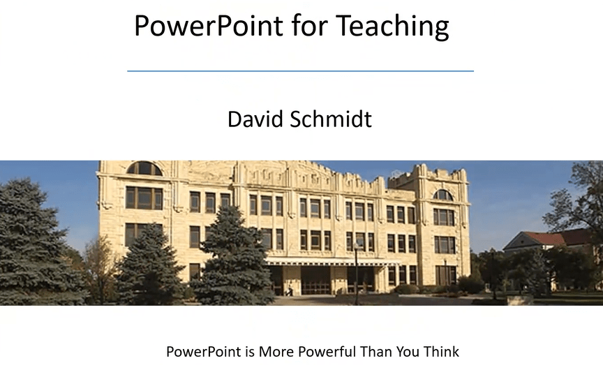 PowerPoint is More Powerful than You Think – New Features for Teaching and Presenting