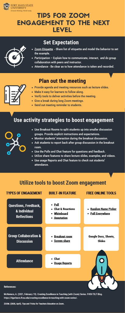 TigerLearn Tips for Zoom Engagement to the Next Level
