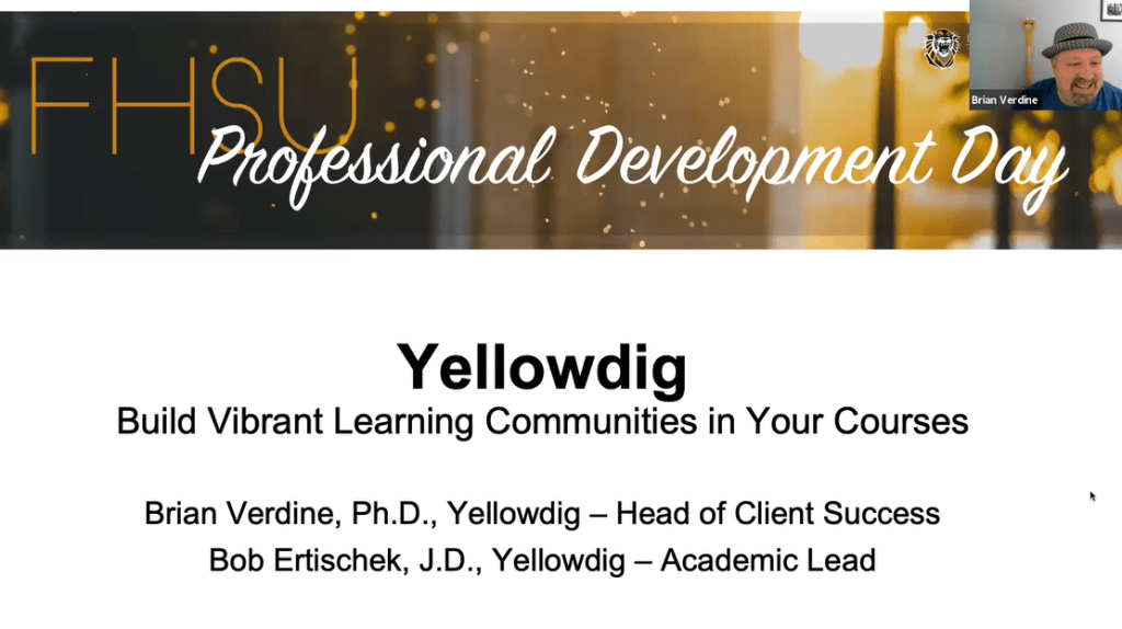Yellowdig: Build a Vibrant Learning Community in Your Course